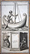 GRAVURE JEAN JACQUES BOISSARD ET BUONANNI / 1700