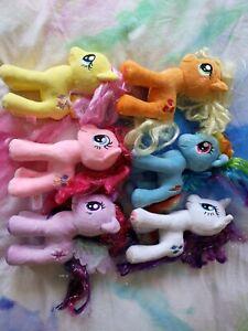 My Little Pony Plush Toy Bundle