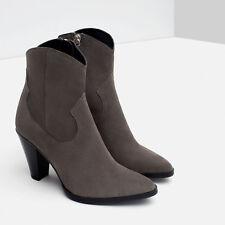 c5e233dfa16 Zara Women's Cowboy Boots 6 Women's US Shoe Size for sale | eBay