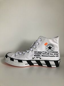 Off-White x Converse Chuck 70 Stripe White UK 10