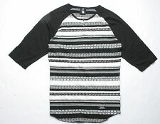 Insight Lucid Loom Raglan Tee (XS) Dirty Boot Black