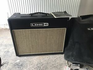 Line 6 Flextone stereo combo amplifier Guitar Amp Electric Or Acoustic Anolifier