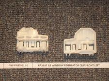 VW Passat (1997-) Window Regulator Repair Clips KIT  (2)  - FRONT LEFT (driver)