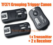 PIXEL Tf-371 Soldier Wireless Grouping Flash Trigger Control for Canon Cameras and Flashes (black)