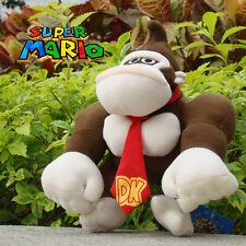 "Donkey Kong 9"" Super Mario Bros Plush Toy Cuddly Nintendo Stuffed Animal Doll"