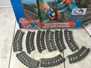 Thomas & Friends Track Master Demolition At The Docks Train Playset PARTS MISSIN