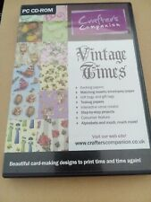0174 Crafters Companion Vintage Times 2 CD Set