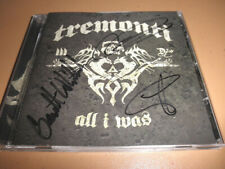 Signed Mark TREMONTI All I Was first CD album