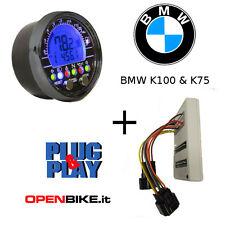 Strumentazione Acewell ACE-2853 Nera + Adattatore per BMW K100 - K75 Plug&Play