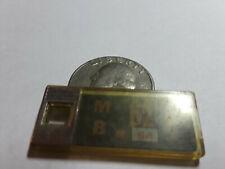 New Jersey Mini DAV License Plate Keychain Tag 62 T