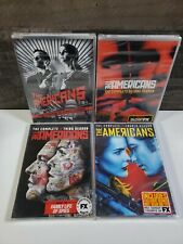 The Americans Complete Seasons 1,2,3 & 4 BRAND NEW SEALED DVD Set, Free Shipping