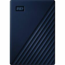 WD WDBA2F0050BBL-WESN My Passport for Mac 5 TB Portable Hard Drive - External