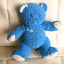 Doudou Ours Musti - Bleu