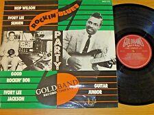 "UK IMPORT MONO BLUES LP - VARIOUS ARTISTS - GOLDBAND 115 - ""ROCKIN' BLUES PARTY"""