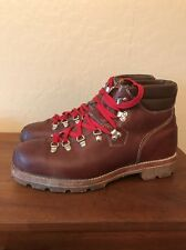 Vintage Mountaineering Nice Leather Hiking Safety Mens Boots 12 Steel Toe Canada