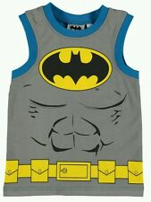 Official Batman Boys Sleveless T Shirt Vest 9-10 years