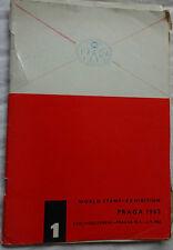 World Stamp Exhibition Prague 1962-programme