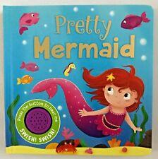 Baby / Kids Pretty Mermaid sound book Hardback NEW!!!