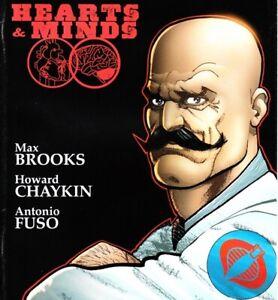 IDW Comics Gi Joe Hearts And Minds Issue No 04 Dr Mind Bender Doc Cvr A Aug 2010