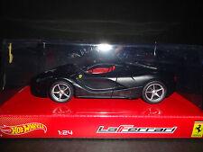 Hot Wheels Ferrari LaFerrari 2013 Mate Negro 1/24