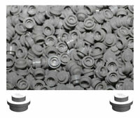 4073 Part No Pack of 100 Lego Black 1 x 1 Round Plate