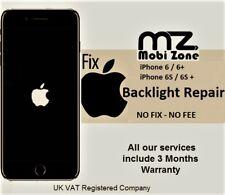 iPhone 6 6S 6 Plus 6S Plus Backlight-Black Dim Screen-No Light Repair Service