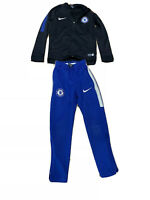 Boys Nike Chelsea Football Kit Outfit Trousers And Top Set