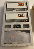 Winross double pups trailers STS Motor Freight