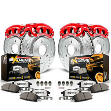 Disc Brake Pad, Caliper and Rotor Kit Front Rear KC6268-36 fits 12-18 Ford F-150