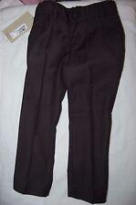 M&S Black Supercrease Trousers Adjust a Hem Shool/Smart Wear Age 5-6 Years BNWT