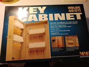 MMF INDUSTRIES 201204003 40 unit capacity Steel Key Cabinet