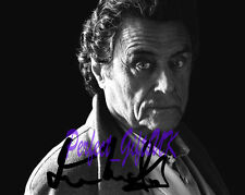 Ian McShane American Gods TV SIGNED AUTOGRAPHED 10X8 REPRO PHOTO PRINT