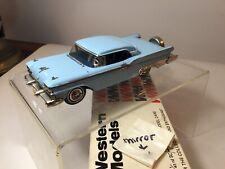 Western Models 1959 Ford Galaxie Skyliner 1:43 Scale