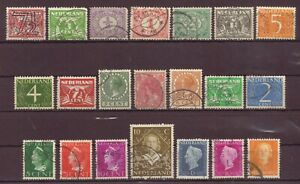 Netherlands, Issues of 1898 - 1949, Used, OLD