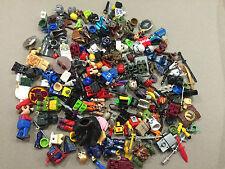 HUGE Lot of 1/2 pound of Non Lego Mega Blok Minifigs minifigures minifig N212