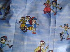 """coupon tissu  """" Pinocchio """"  88 X 180 cm"""