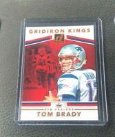 2017 Donruss Tom Brady Gridiron Kings