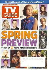 TV Guide Magazine Spring Preview Mar 2011 Mildred Pierce Borgias Game of Thrones