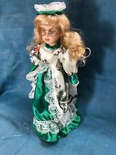 """Ashley Belle Collection 16"""" Porcelain Doll with Stand"""