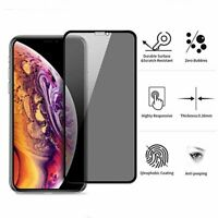 For iPhone 11 Pro XS Max XR X 8 7 Plus Privacy Tempered Glass Screen Protector