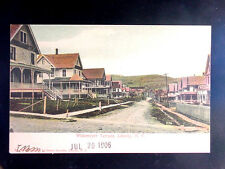 1906 Homes Widemeyer Terrace Liberty NY post card Sullivan County