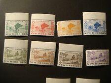 British New Hebrides.1953,#66-76.MH