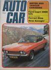 Autocar magazine 8 March 1973 featuring Ford Capri road test, Ferrari Dino 246