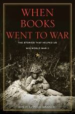 WHEN BOOKS WENT TO WAR-MOLLY MANNING-UNABRIDGED AUDIOBOOK on MP3-CD-LIKE NEW!