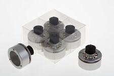 Isonoe Isolamento Piedi Per Giradischi TECHNICS SL1200 Series | si adatta REGA | Argento