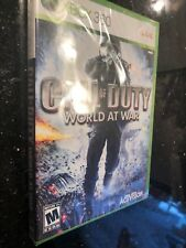 CALL OF DUTY:WORLD AT WAR ORIGINAL COVER- XBOX 360 New FACTORY SEALED