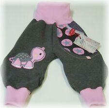 NICIART ♥ NEU KUSCHELSWEAT HOSE ♥ BABY SWEAT PUMPHOSE 50-98 ♥ Schildkröte♥PUMPI♥