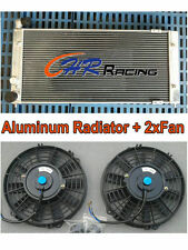 Aluminum radiator + Fan for VW Golf 2 & Corrado VR6 Turbo Manual