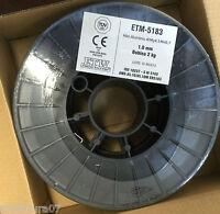 1 bobina 2 Kg Alambre de Aluminio 5183 para Soldadura MIG de 1,0mm ALMg4,5Mn0,7