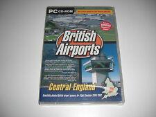 Gli AEROPORTI britannici volume 4 PC CENTRALE add-on Simulatore di volo SIM 2002 2004 NUOVI